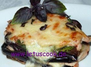 Putenschnitzel-Auberginen Lasagne  -  ინდაურის და ბადრიჯნის ლაზანიე