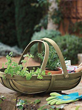 Garden Trug - Joseph Bentley wood garden basket | Solutions $30.00