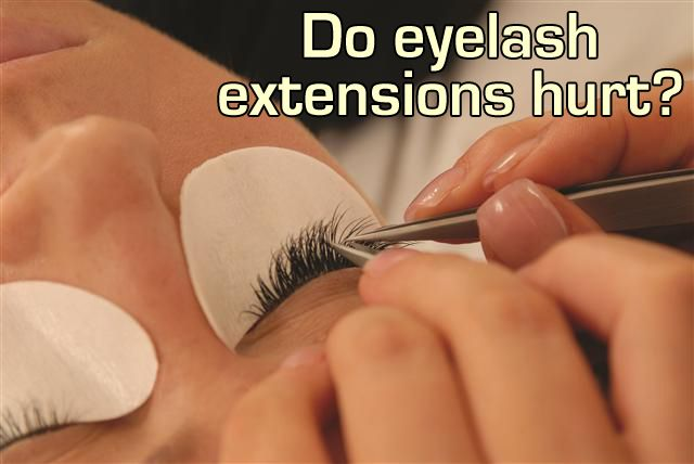 944ff37e31a Eyelash extensions should not hurt. If the eyelash extension does hurt one  or more of