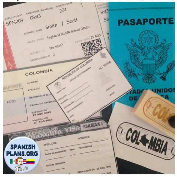 Wordpress Com Pasaporte Clase De Espanol Educacion