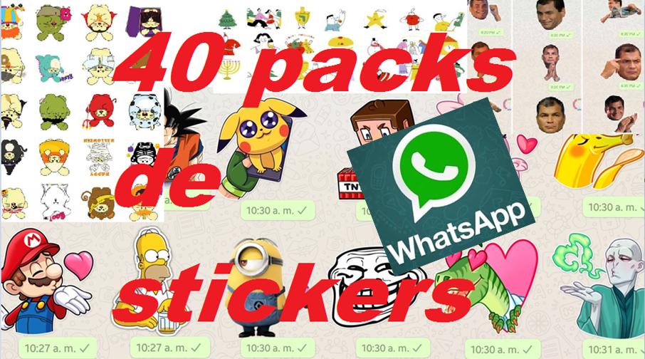 40 Packs De Stickers Gratis Para Whatsapp Disponibles Para Descargar En Android E Ios Angellomix Estados Para Whatsapp Emojis Para Whatsapp Emoticones Para Whatsapp Gratis