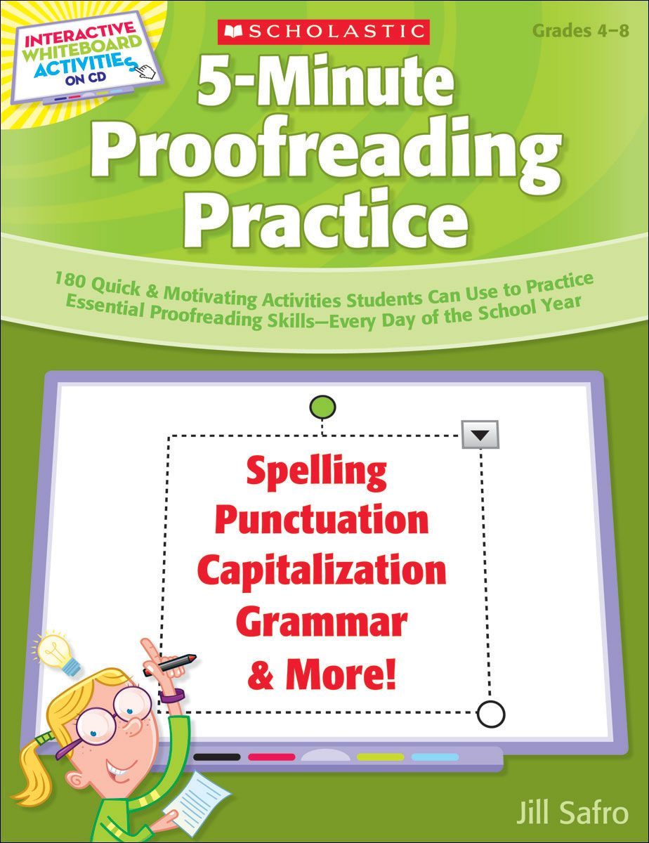 5-Minute Proofreading Practice | 180 short exercises for the SMART ...