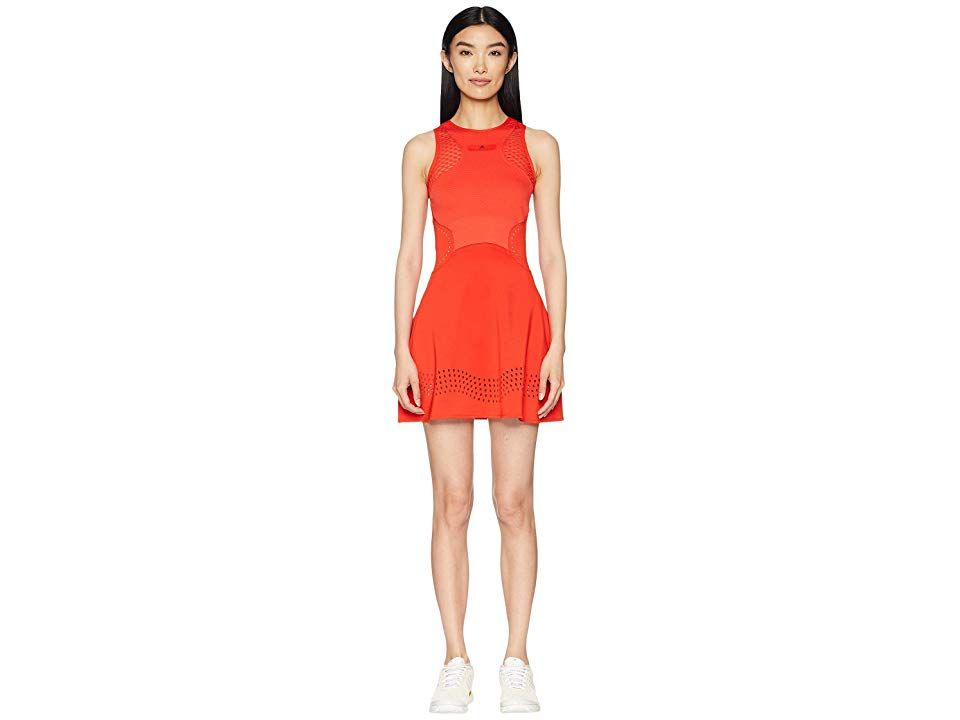 Adidas Stella Mccartney Q3 Dress Core Red Women S Dress Take The Court With Fierce Style And Unbeatable Performance In The Adidas By Stella Mccartney Clothes