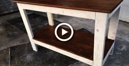 Rustic Kitchen Island project Fast and easy Great project for all skill levelsDIY 20 Rustic Kitchen Island project Fast and easy Great project for all skill levels20 Rust...