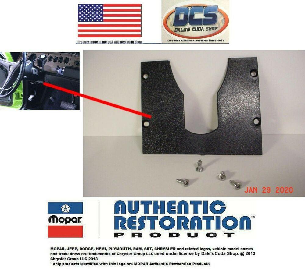 1970 71 72 73 74 Dodge Challenger Interior Door Lock Handles 2999950 NEW MoPar