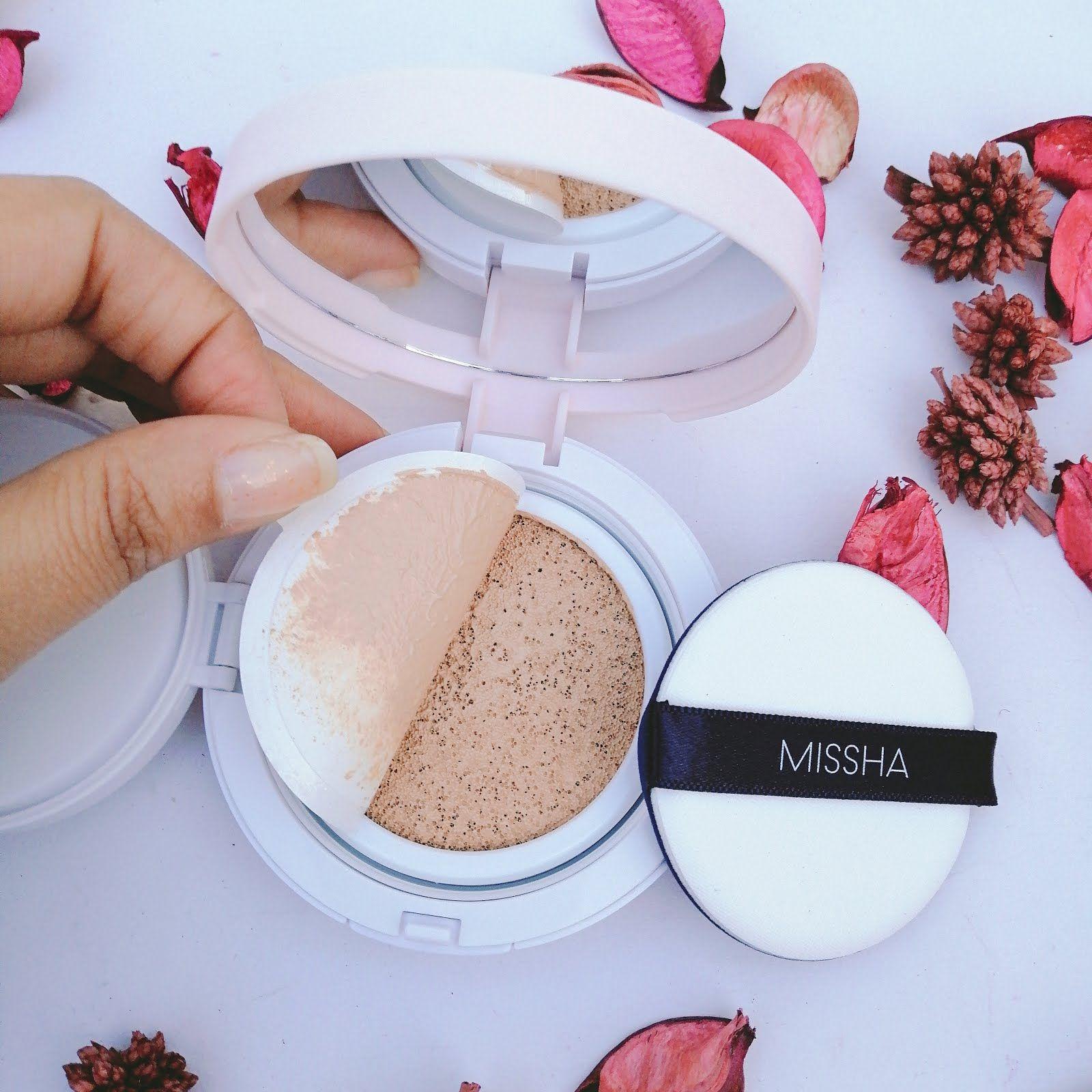 Missha Magic Cushion Compact Spf50 Pa Review Missha Missha Cosmetics Missha Bb Cream Review