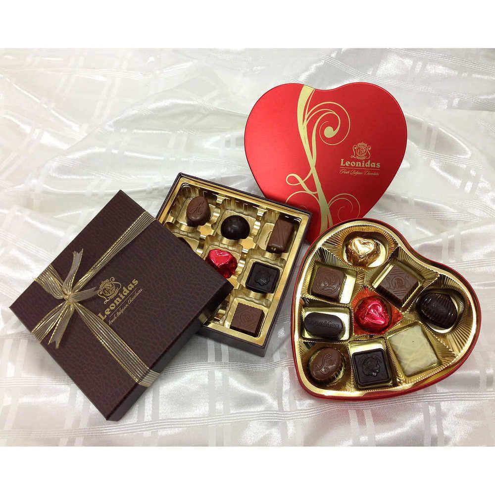 "Valentine's Day Leonidas ""You & Me"" Fresh Belgian Chocolate Box ..."