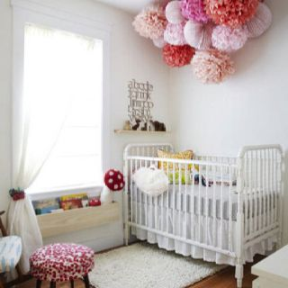ohhh this is cute! Crazy to think I could have a little room like this in a couple years... with a small person in it.