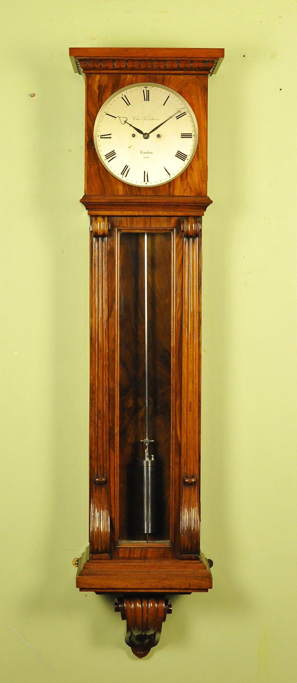 Subline Wall Regulator Clock Frodsham London Antique Wall Clocks Clock Wall Clock