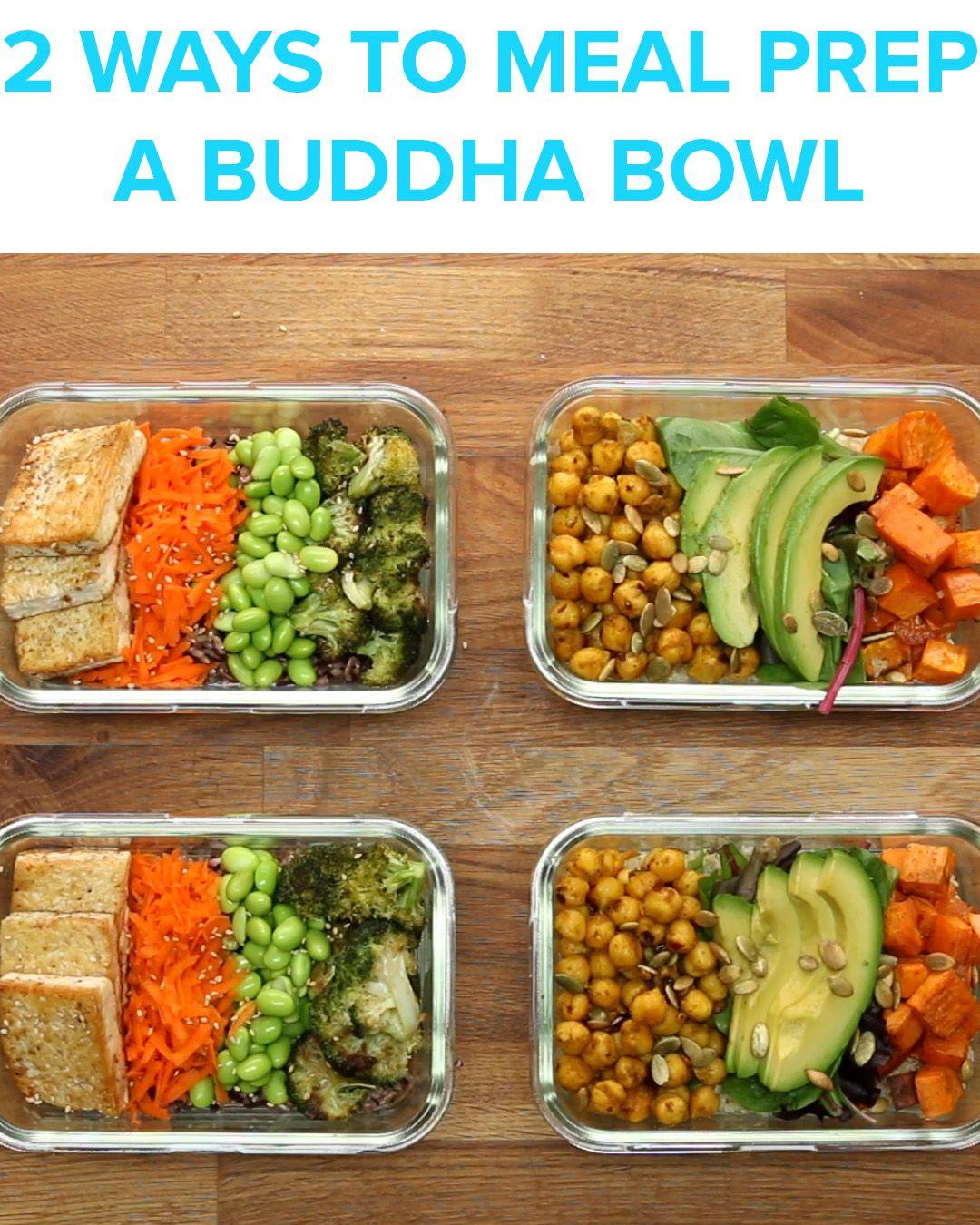 Buddha Bowl Meal Prep
