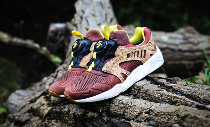 2f24317b1ad8 Puma Disc Leather Cage Lux Opt 2 Cork Pack Chili Vnds Fieg 356410-01  260.00