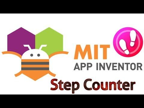 STEP Counter MIT APP INVENTOR Pedometer YouTube