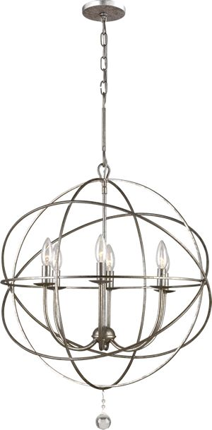 buy the crystorama lighting group olde silver direct shop for the crystorama lighting group olde silver solaris 6 light wide wrought iron chandelier and