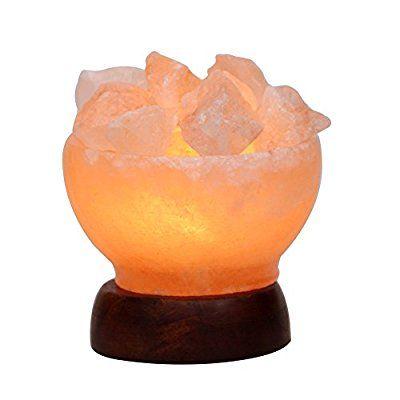 Where Can I Buy A Himalayan Salt Lamp 5Inch 56Lbs Himalayan Salt Lamp Fire Bowl With Natural Crystal Salt