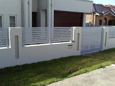 Fencing Ideas Modern Fence Fence Design House Fence Design
