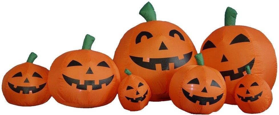 Standard Concession Supply 12 Foot Pumpkin Patch Halloween - halloween inflatable decorations