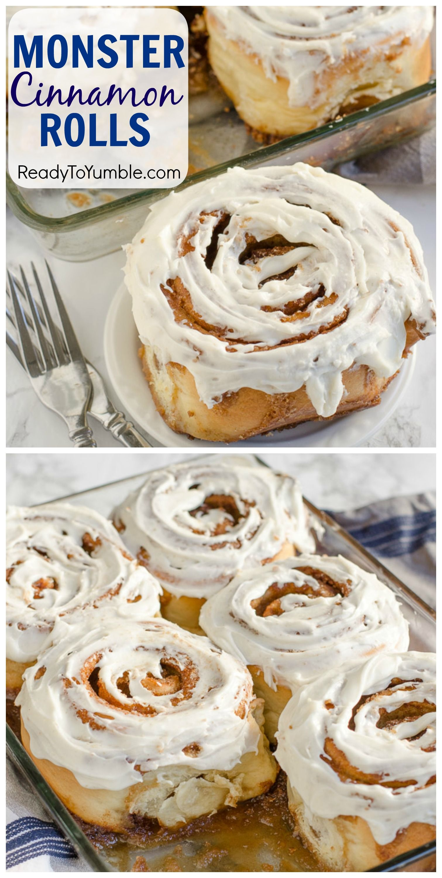 Monster Cinnamon Rolls + BIG EXCITING NEWS – Ready to Yumble