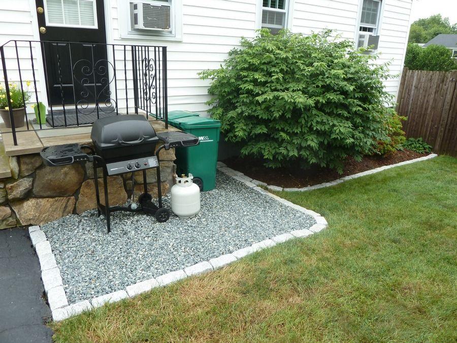 bluestone patio idea just 10 times bigger - Crushed Stone Patio