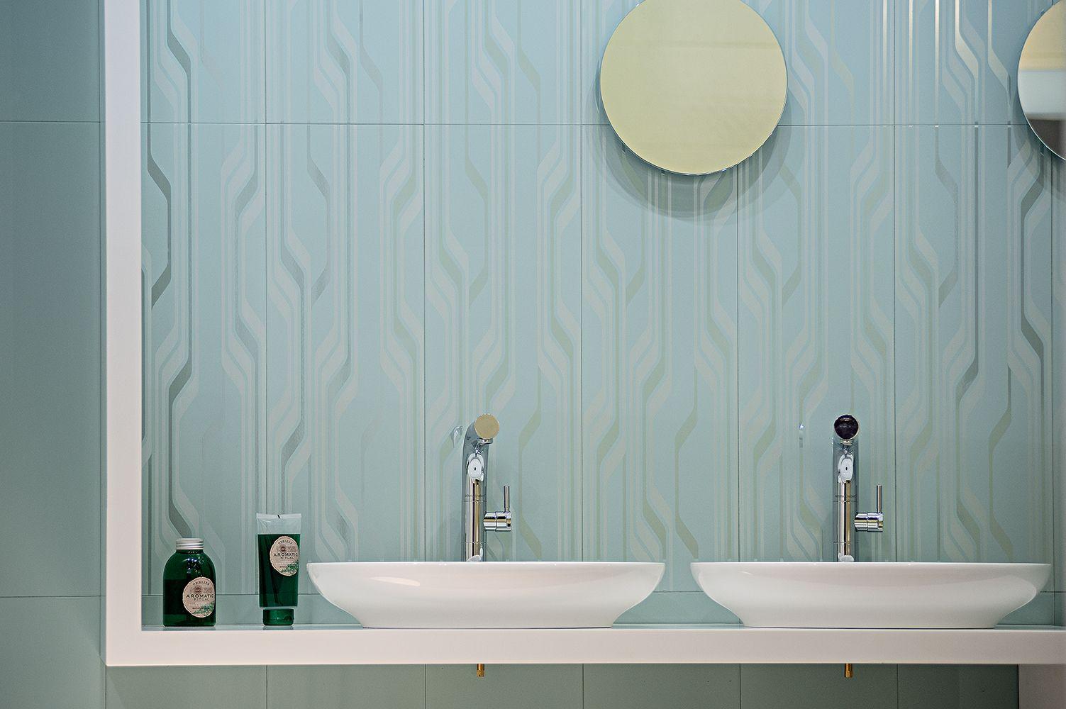 Ava Ceramica: Visia Mentha Modern Stripes | Toilet & Bath Tile Ideas ...
