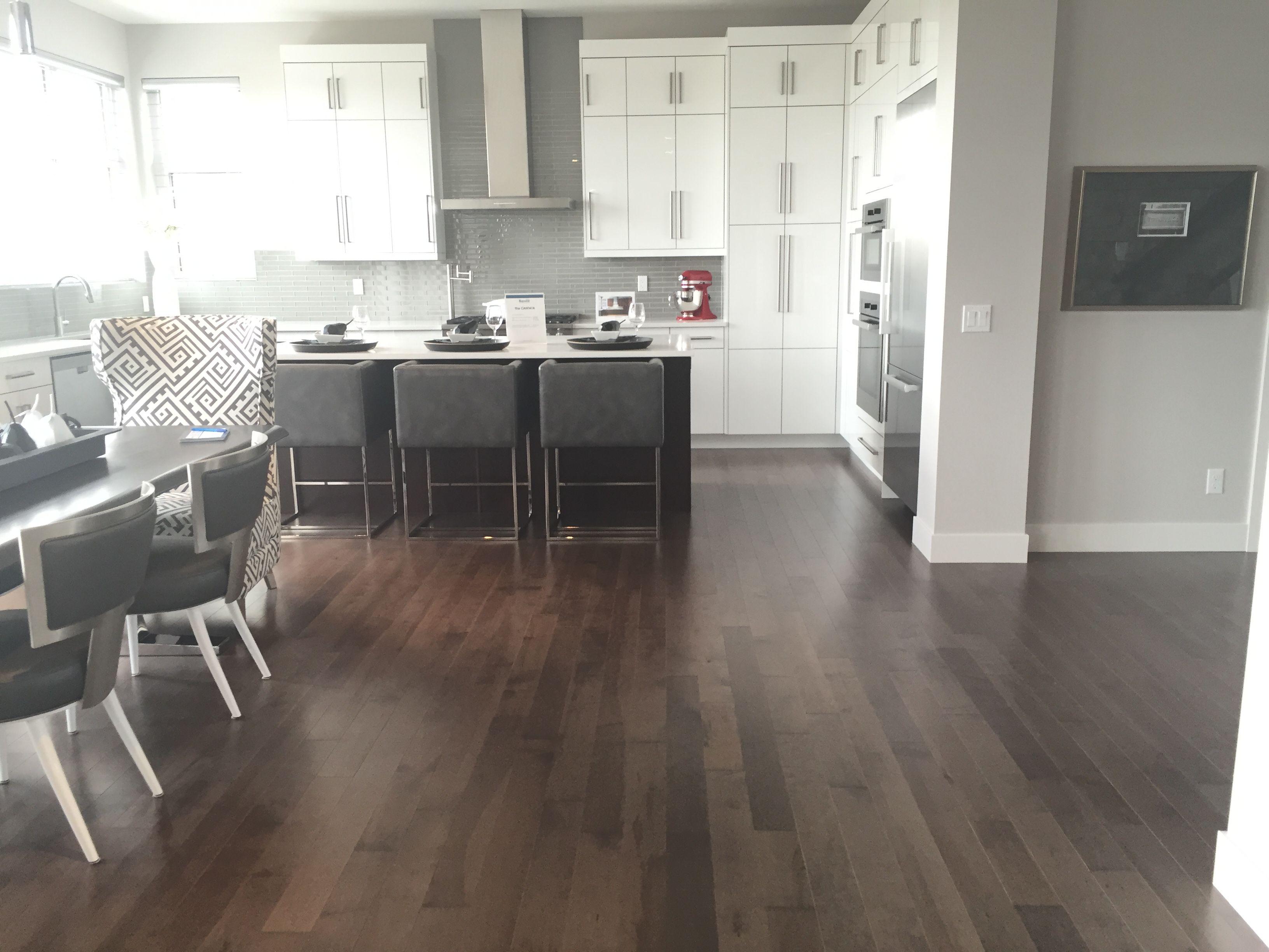 Gray Hardwood Floor: Smoky Grey, Essential, Hard Maple, Essential