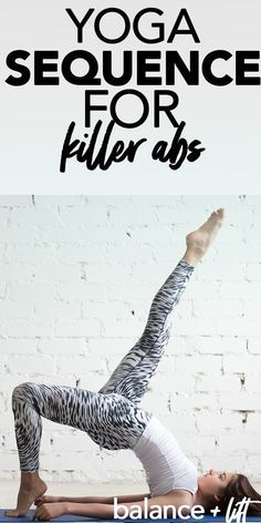 pin on yoga sequence for killer abs