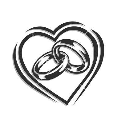 wedding ring silhouette Google keress Transzfer Pinterest