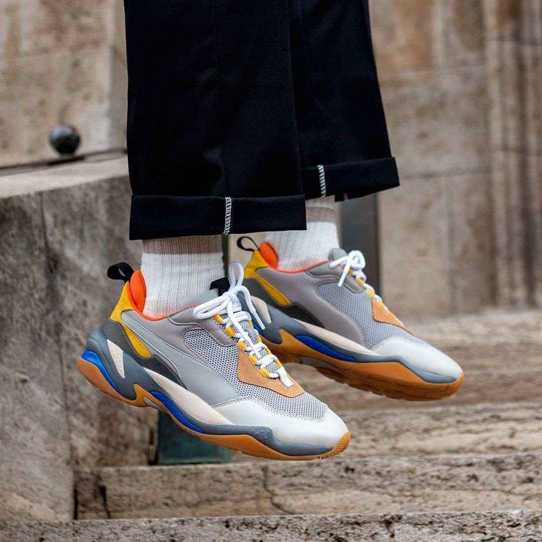 ee2a6899d4 Puma Thunder Spectra Grey / Yellow | Kicks | Puma sneakers, Sneakers ...
