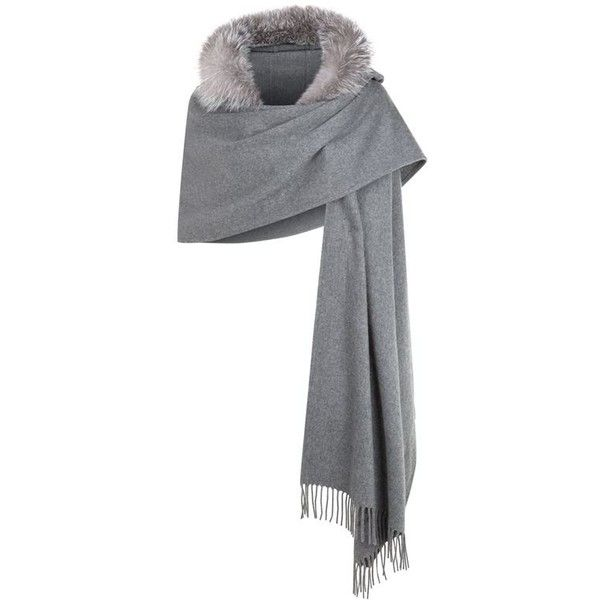 Burberry Hooded Scarf ( 1,615) ❤ liked on Polyvore featuring accessories,  scarves, wrap 587810bd446