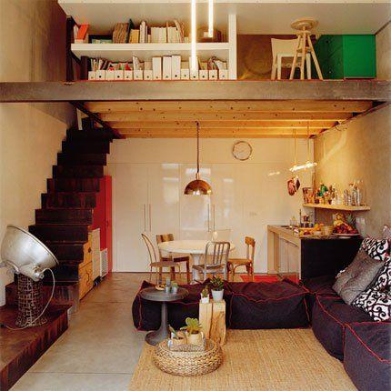 Gagner de la place en hauteur dans un appartement de 45 m for Gagner de la place dans un studio