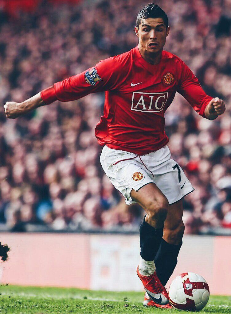 975dc25f757 Look how far he has gone👏 Cristiano Ronaldo Manchester