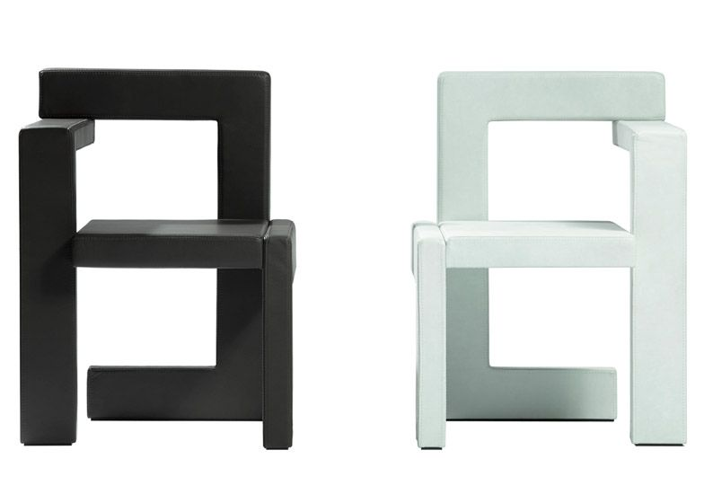 Gerrit Rietveld s Steltman chair reissuedGerrit Rietveld s Steltman chair reissued   Architects and  . Famous Architect Chairs. Home Design Ideas