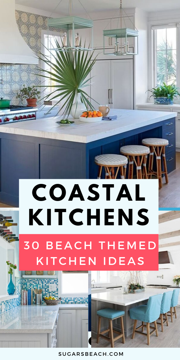Best Coastal Kitchens Beach Decor Ideas For 2020 Kitchen Decor Apartment Beach Theme Kitchen Beach Theme Living Room