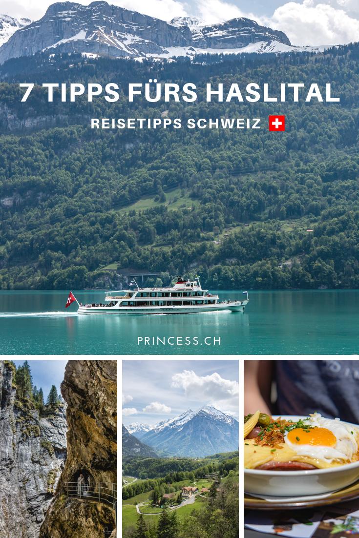 7 Tipps aus dem Haslital und der Region Brienzersee
