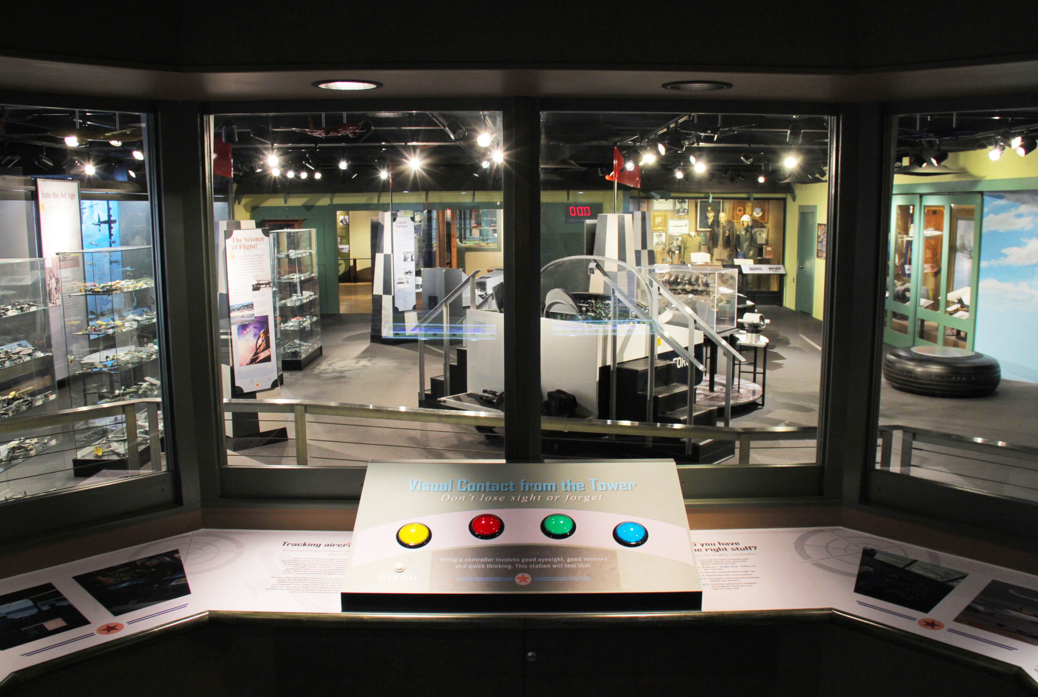 """""""Aviation Game Center"""" for the Science Spectrum Museum in"""