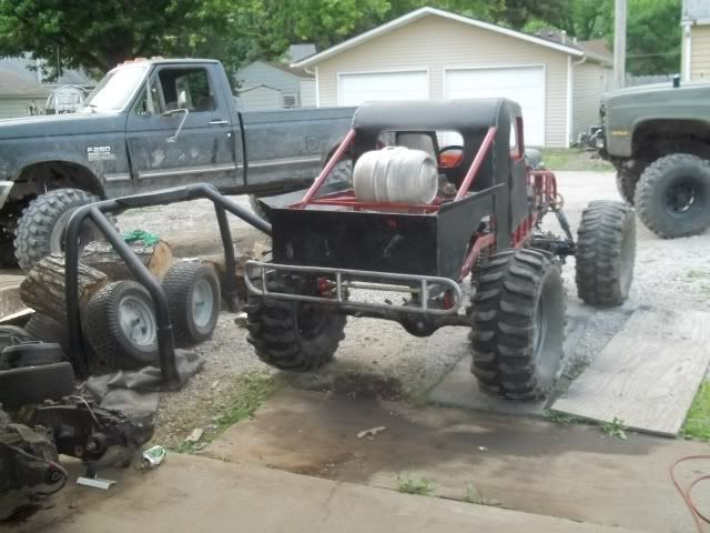 Redneck Go Karts The Legend Truck Build Thread Offroad Page