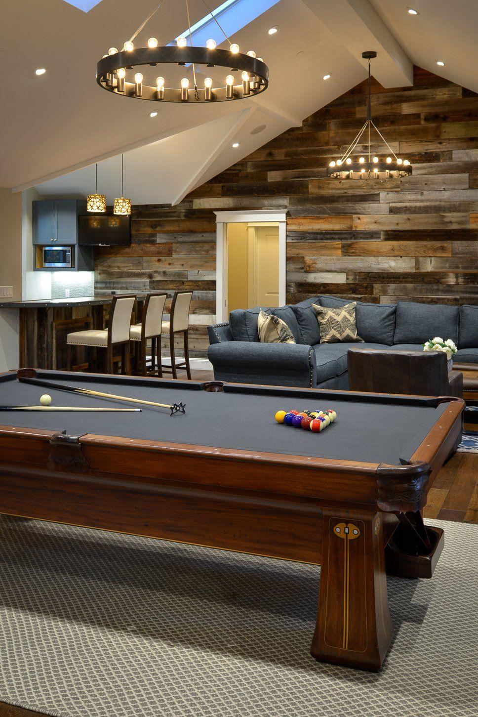 Get Inspiredrustic Living Room Design Photosurrina Plemons Enchanting Pool Table Living Room Design Design Decoration