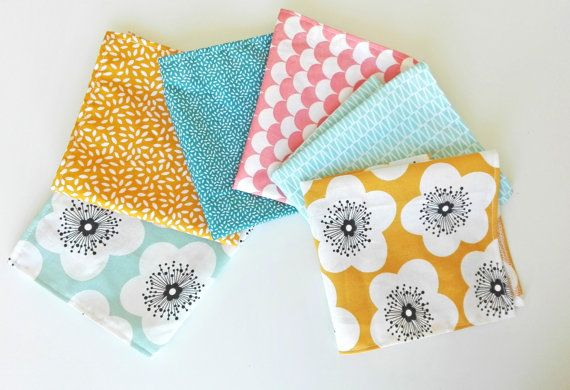 mouchoir en tissu mouchoir lavable z ro par. Black Bedroom Furniture Sets. Home Design Ideas