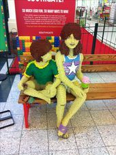 Lego People at SouthGate people
