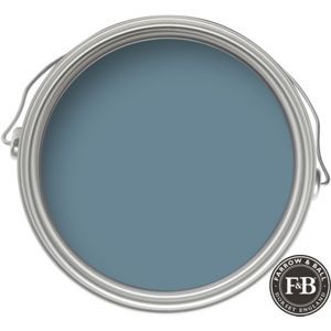 Farrow Ball Eco Stone Blue Exterior Eggshell Paint 750ml Blue Floor Farrow Ball