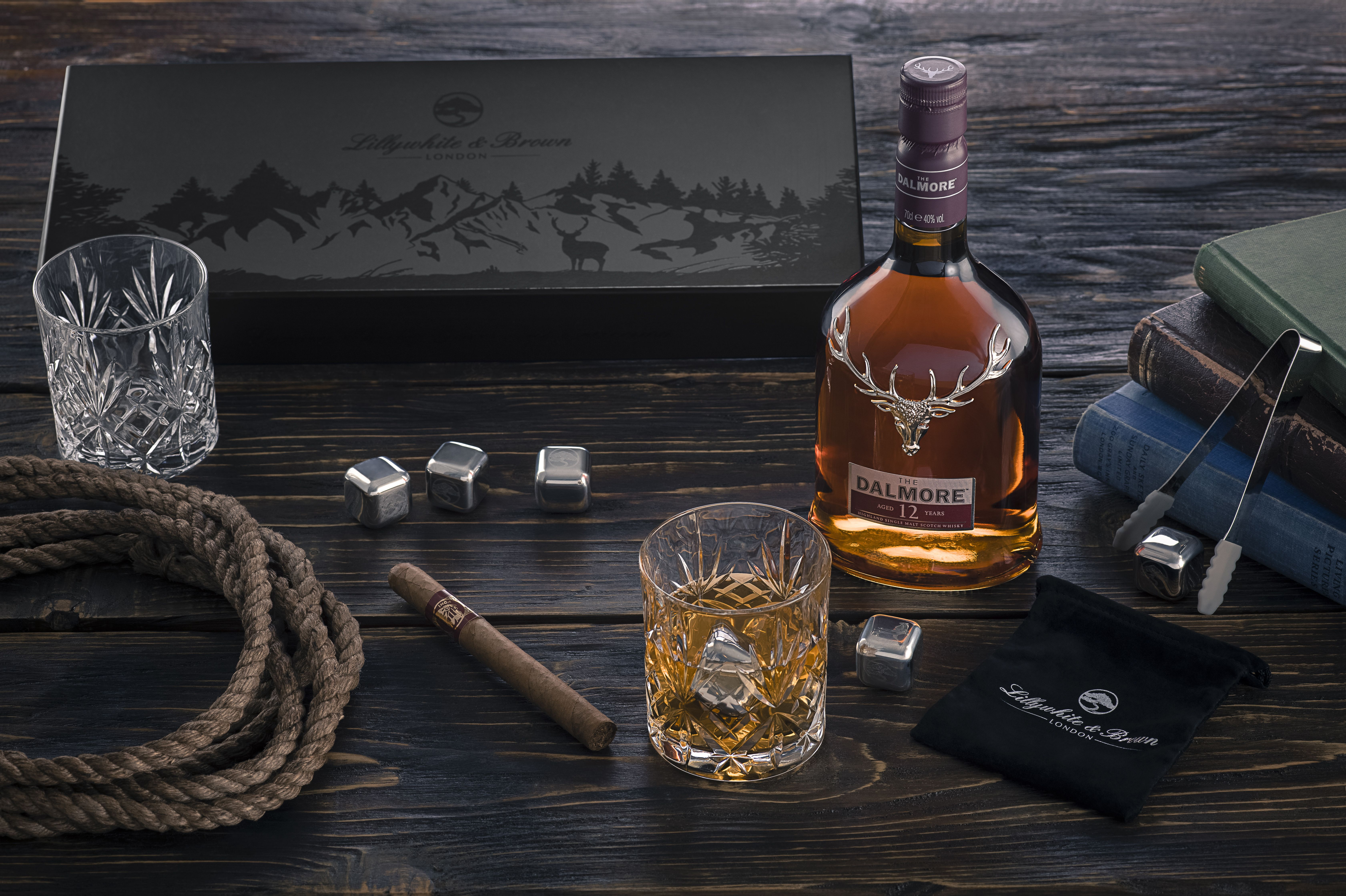 Whisky Glass Gift Set by Lillywhite & Brown Glass gifts