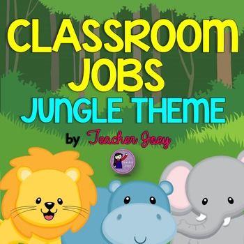 Jungle Theme Classroom Jobs Jungle theme, Jungle theme classroom - new jungle powerpoint template