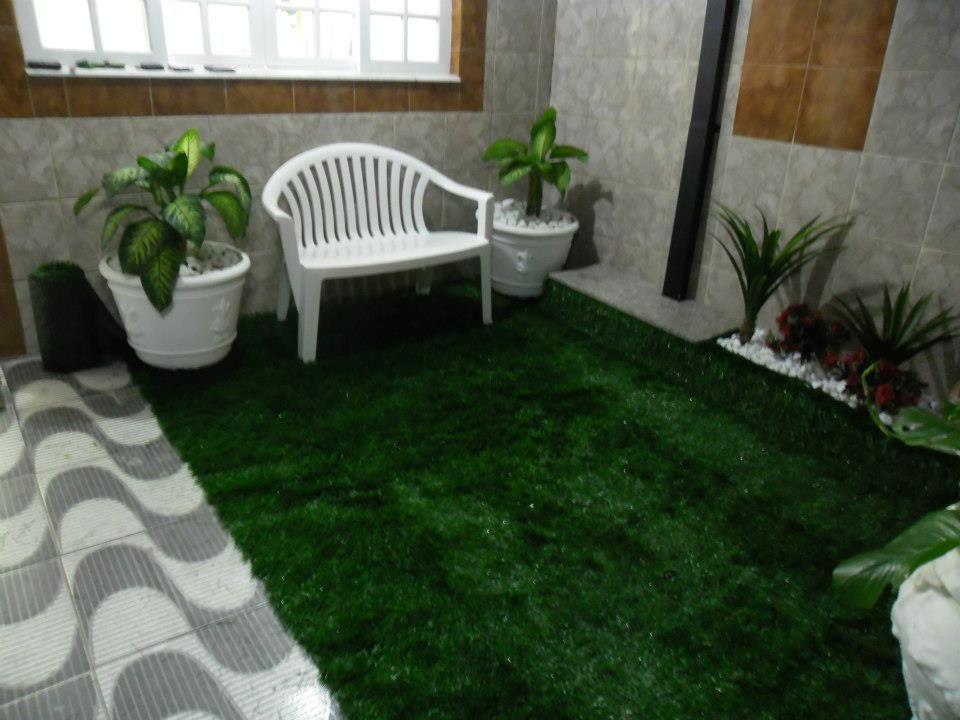 Grama Sintetica Para Jardim Preço E Fotos   Decorando Casas