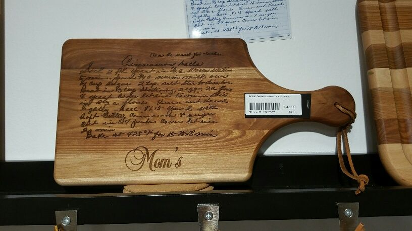 Turn Your Cherished Hand Written Recipes Into A Family Heirloom And Keepsake Great For Giftost Por Christmaother S Day