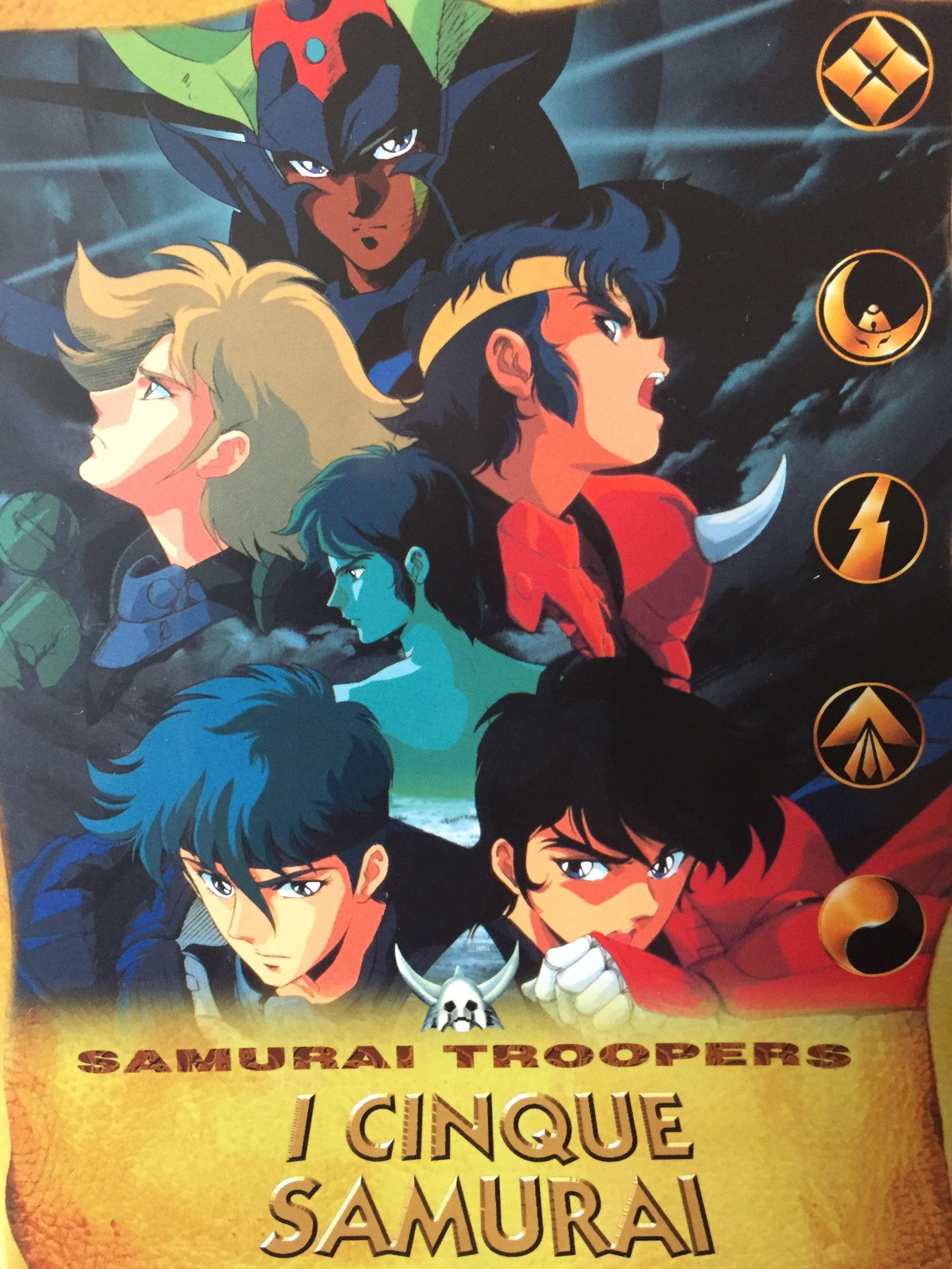 Pin di ErgoSylar su Samurai Troopers I 5 Samurai