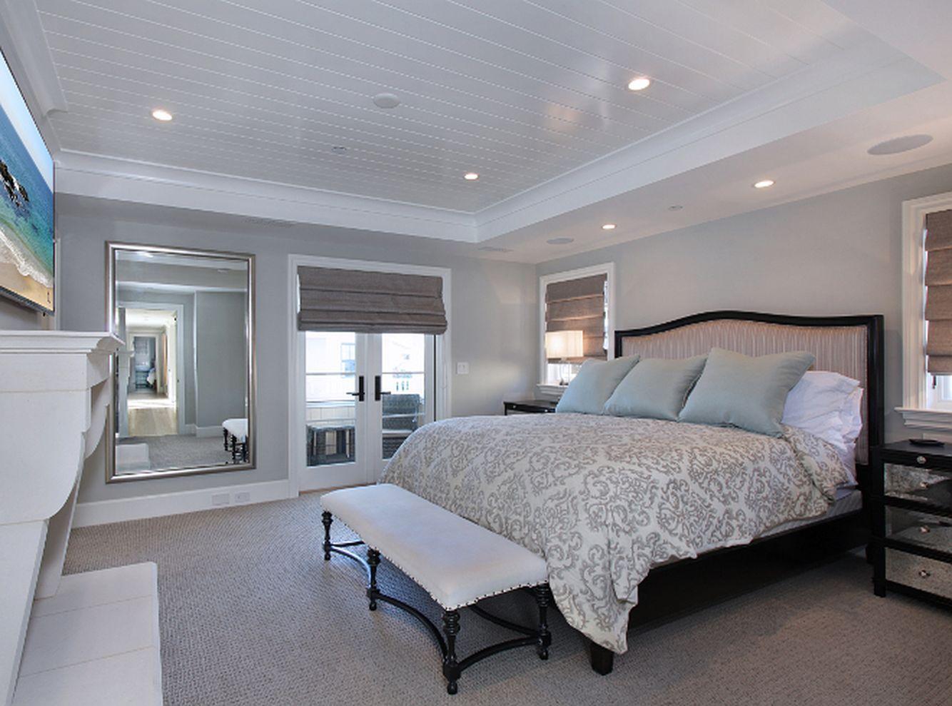 90+ Beautiful Bedroom Design Ideas Using Grey Carpet http ...