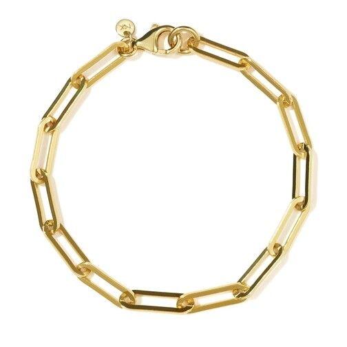 Meadowlark Paperclip Heavy Bracelet Armband