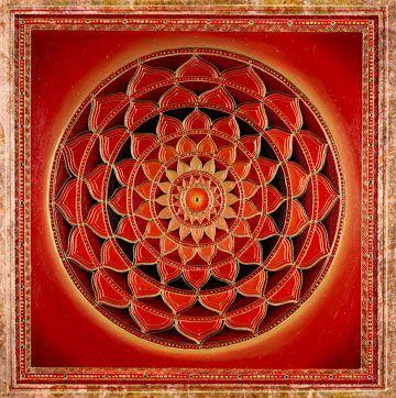 Mandala De Fuerza Interior