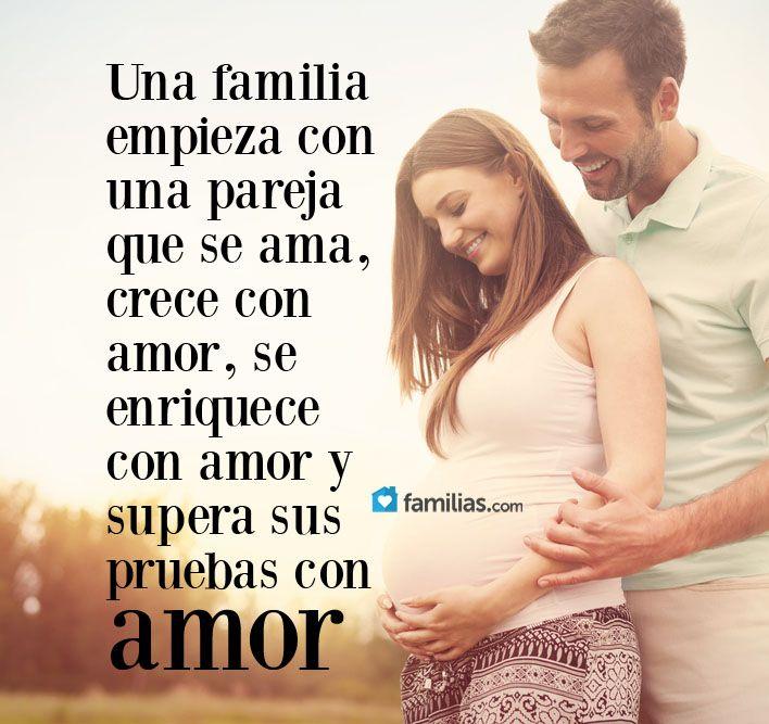 Frases De Amor Y Familia Frases De Amor Y Familia Yoamoamifamilia Www Familias Com Familia Frases Familias Cristianas Felicitacion Por Bebe