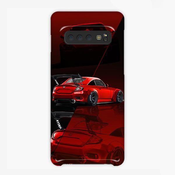 Honda Fc2000 Dohc Vtec Jdm Car Red Samsung Galaxy S10 Plus Case  -  #Car #Case #DOHC #Fc2000 #Galaxy #Honda #JDM #Red #s10 #Samsung #VTEC