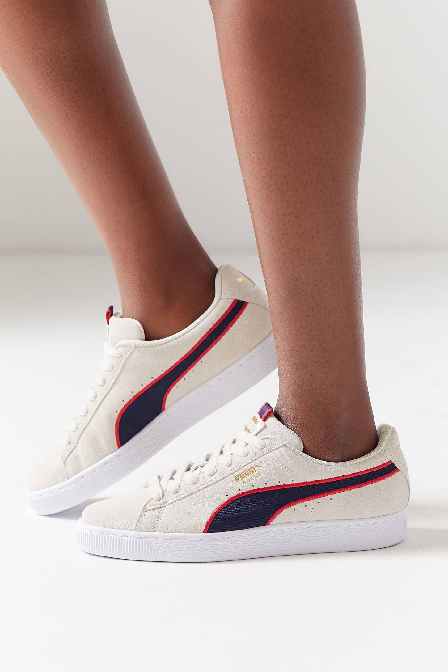 2b0faafc0f5e Puma Suede Classic Sport Stripes Sneaker in 2018